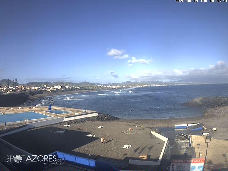 Webcam Ribeira Grande - Piscinas